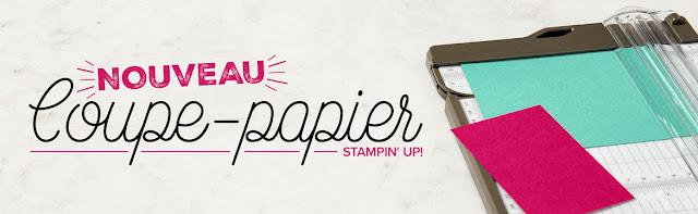 nouveau coupe-papier Stampin' Up!