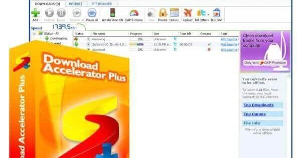 تحميل برنامج Download Accelerator Plus للكمبيوتر مجانا كاملا