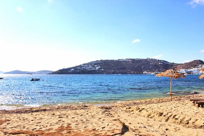 Paraga beach Mykonos Greece