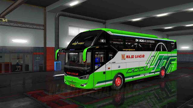 Mod Bus Laksana SR2 XHD PRIME Untuk ETS2 terbaru 1.36
