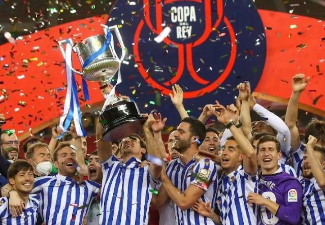 Oyarzabal da a Real Sociedad su segunda Copa del Rey en histórica final
