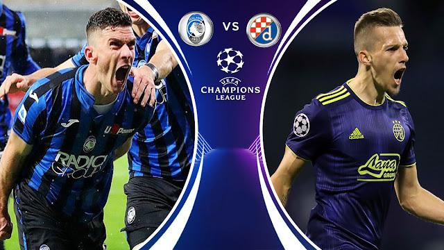 تقديم مباراة أتلانتا و دينامو زغرب دوري أبطال أوروبا