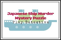 Japanese Ship Murder Mystery Puzzle