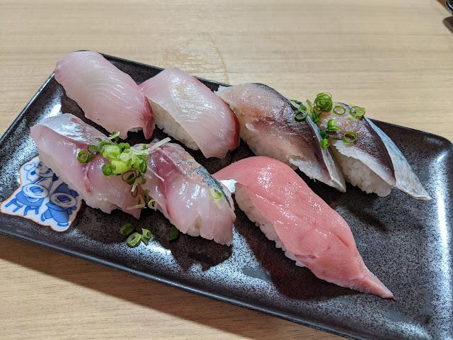 長崎 若竹丸 立岩店の寿司