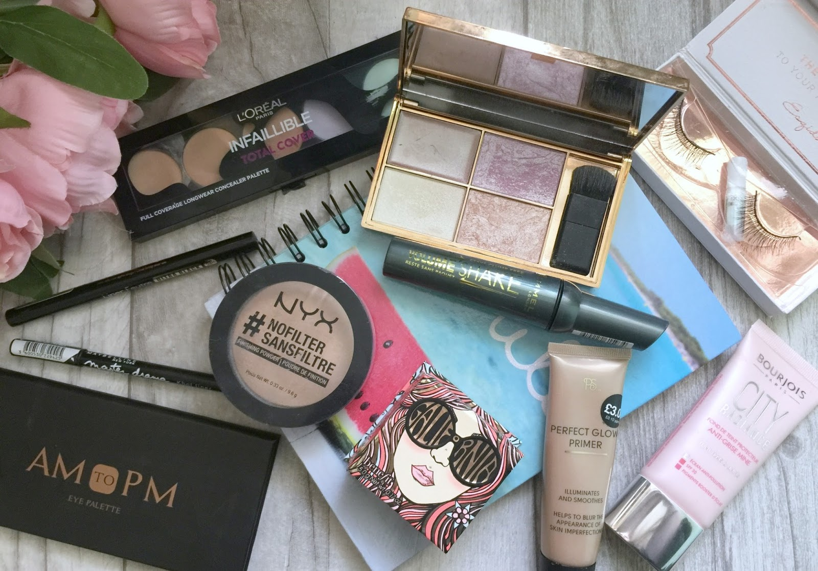 wedding face of the day what I used