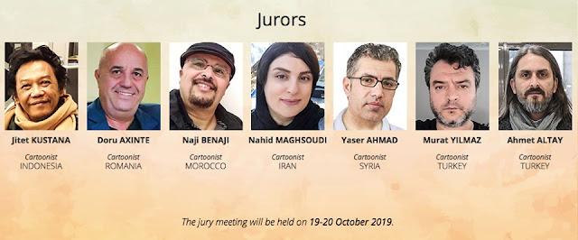 Jury of Our Heritage Jerusalem 3rd International Cartoon Competition