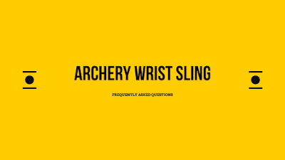 Archery Wrist Sling