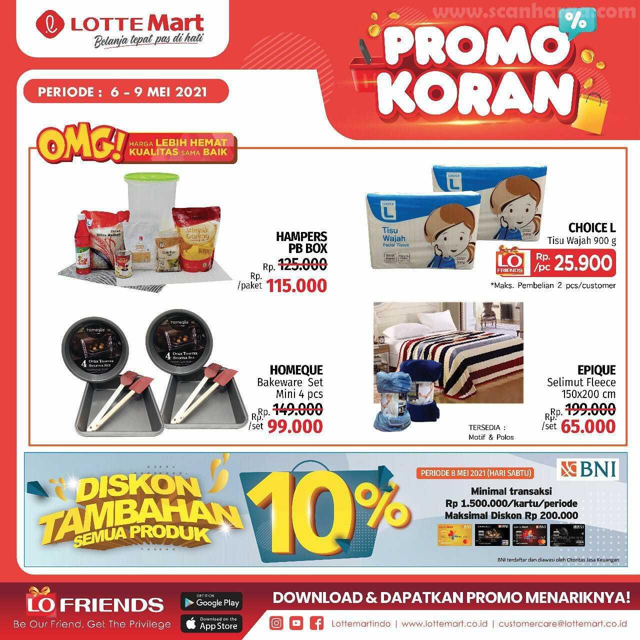 Katalog Promo Lottemart Weekend 6 - 9 Mei 2021 8