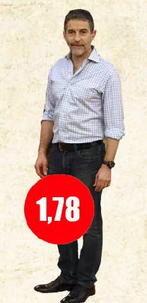 Cuánto mide Polo Ramírez
