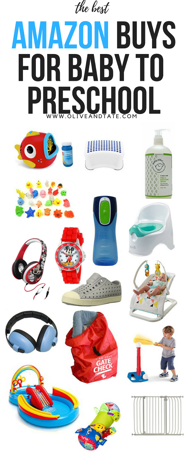Amazon Faves: For Baby, Toddlers and Preschoolers