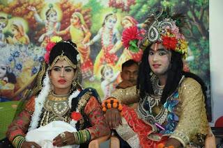 श्री कृष्ण जन्माष्टमी हर्षोल्लास के साथ मनायी गयी    #NayaSaberaNetwork