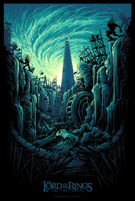 Dan Mumford Lord of the Rings Two Towers Print