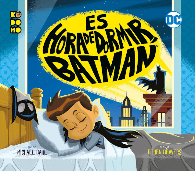 Review del cómic Es hora de dormir, Batman de Michael Dahl y Ethen Beavers - ECC Ediciones