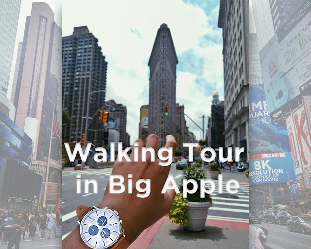Walking-Tour-Big-Apple-New-York-City-Timex
