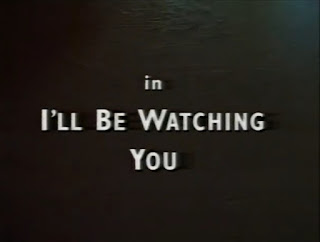 """Wyrd Britain reviews """"I'll Be Watchng You"""" from the BBC TV Series Ghosts (1995)."""