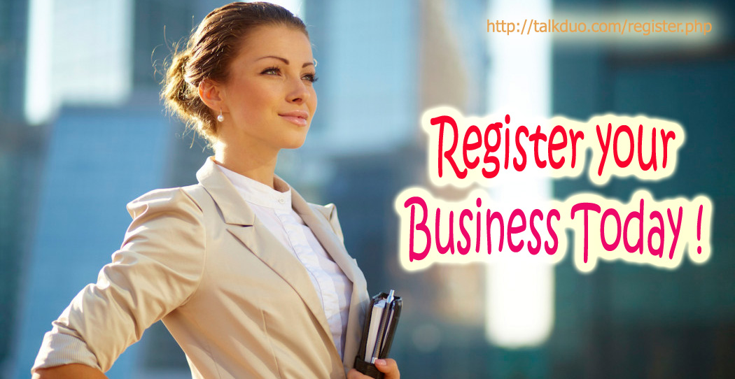 Register your Business in Directory