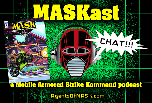 MASKast Chat 14: M.A.S.K. #1 Comic Review