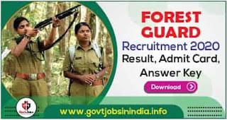 Forest Guard Delhi Answer Key