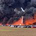 Φωτιά κάνει στάχτη 3.500 ενοικιαζόμενα αυτοκίνητα (Video)