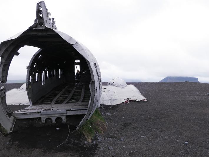 avion abandonné nord Islande