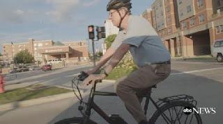 cycling, cycling mayor, mayor Chris Koos