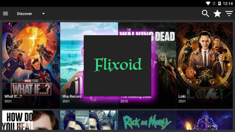 Flixoid-Aplicatie de vazut filme online pe android