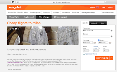 easyjet activities excursions suggestions Milan Italy Stelvio cycling carbon road bike rental