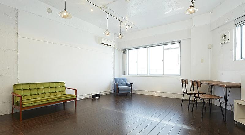 東京/渋谷で天井の高い撮影スタジオ/貸し会議室をお探しならレンタルスペース糀屋箱機構 Creator's District1001