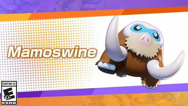 Pokémon Unite (Switch): Mamoswine chega em 29 de setembro