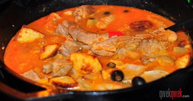The Spanish In Us: Pork Afritada Recipe