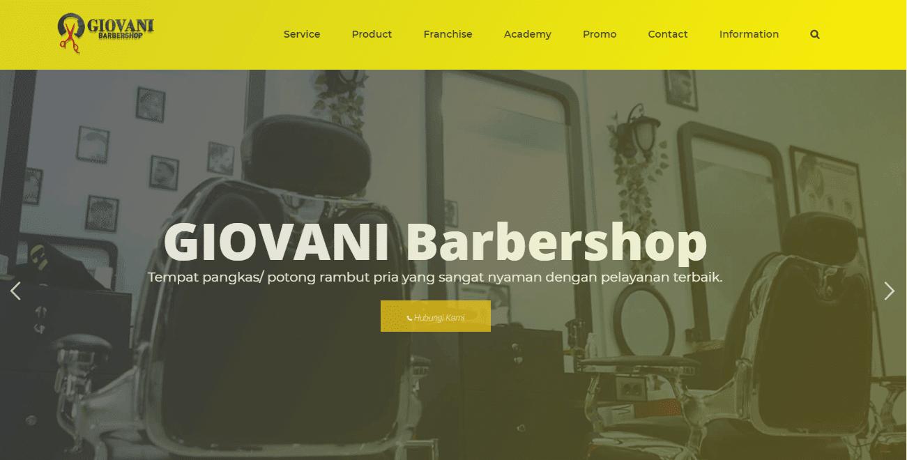 Giovani Barbershop - Tempat Potong Rambut Pria Terbaik 2020