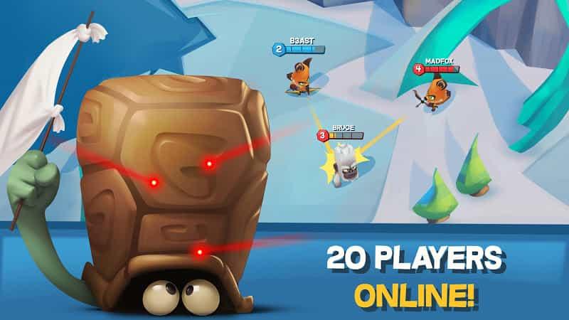 Zooba v2.18.1 MOD, Unlimited Skills - Game phiêu lưu với Zooba