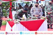 Kompak, Panglima bersama Kapolri Kunjungi Lembaga Pendidikan TNI dan Polri