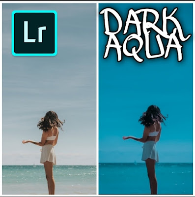 preset lightroom dark aqua