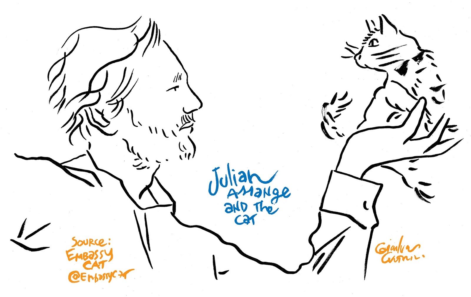 Julian Assange S Cat S Name