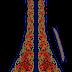 Flower Print Suit Kurti Design - Center Part 2717