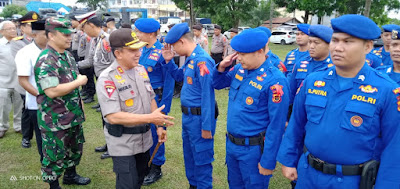 Kapolda Jambi Pimpin Apel Pasukan Operasi Lilin Siginjai Tahun 2019