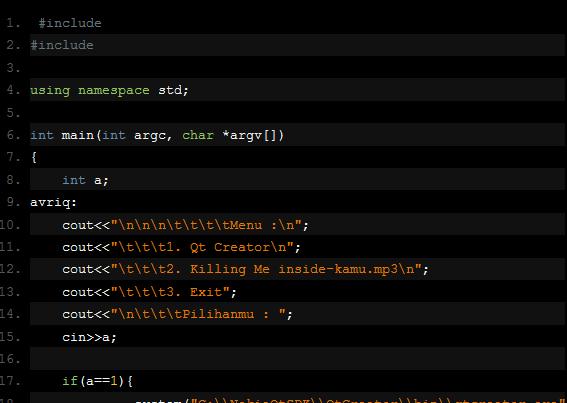 Memanggil Program atau File Di Komputer Dengan C++
