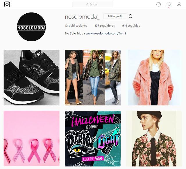 instagram no solo moda nosolomoda