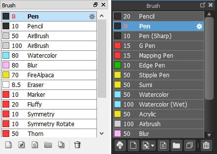 CosbyArt: Differences Between FireAlpaca vs MediBang Paint Pro