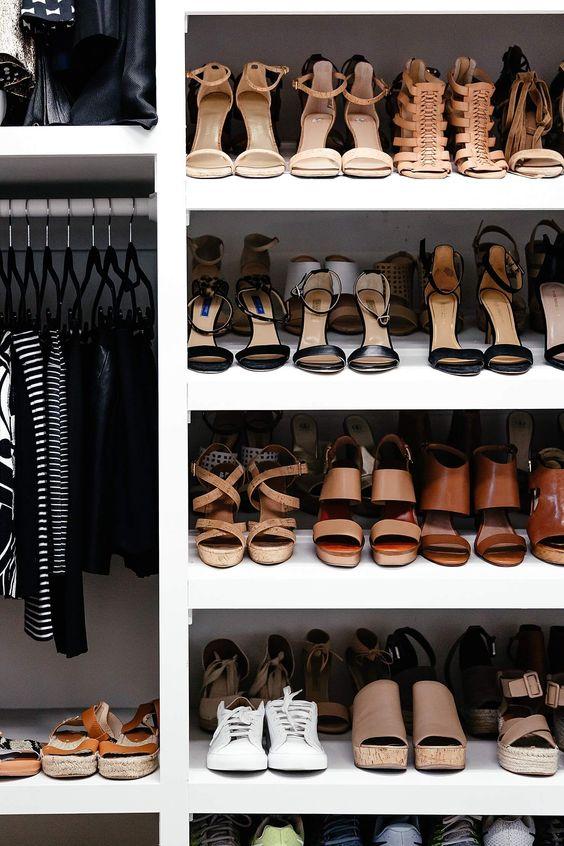 Dicas para você que sonha com um closet organizado, mas não sabe por onde começar.