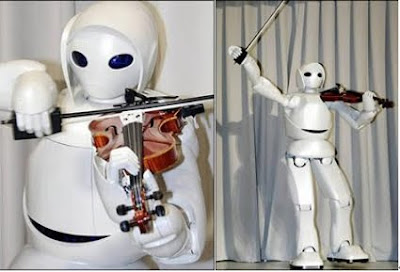 Resultado de imagem para Toyota's Robot Quartet Band