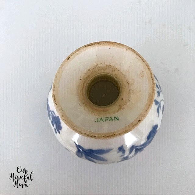 made in Japan makers mark salt shaker rubber stopper