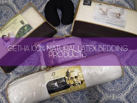 Dapatkan Tidur Berkualiti dengan Produk GETHA 100% Natural Latex