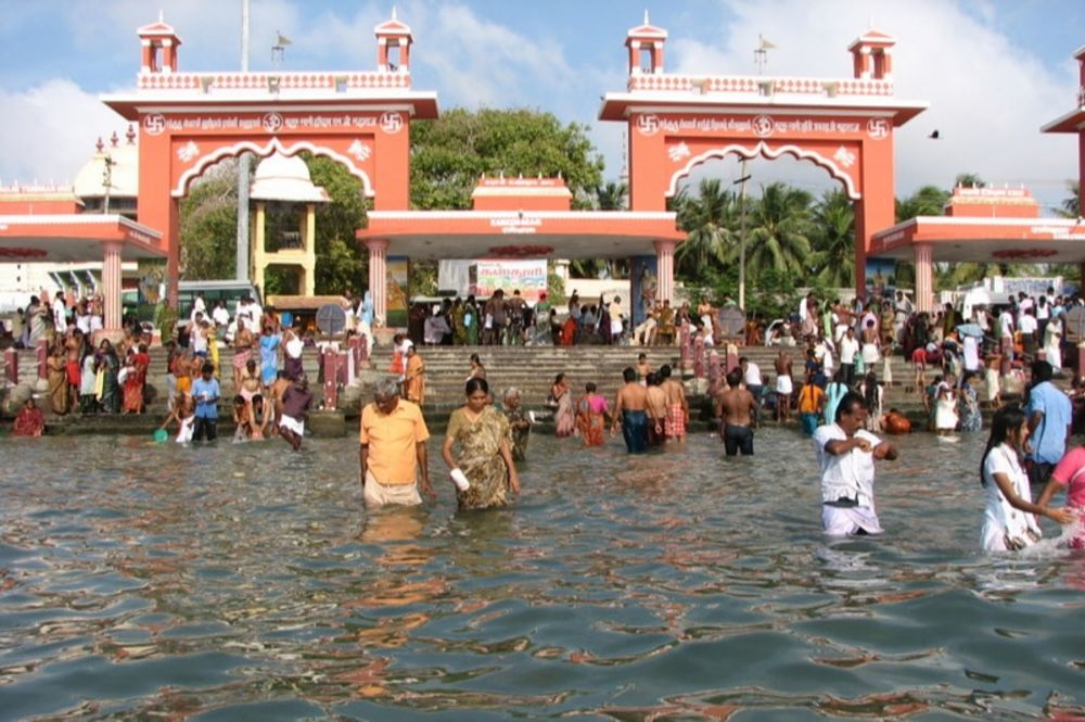 Agnitheertham rameshwaram