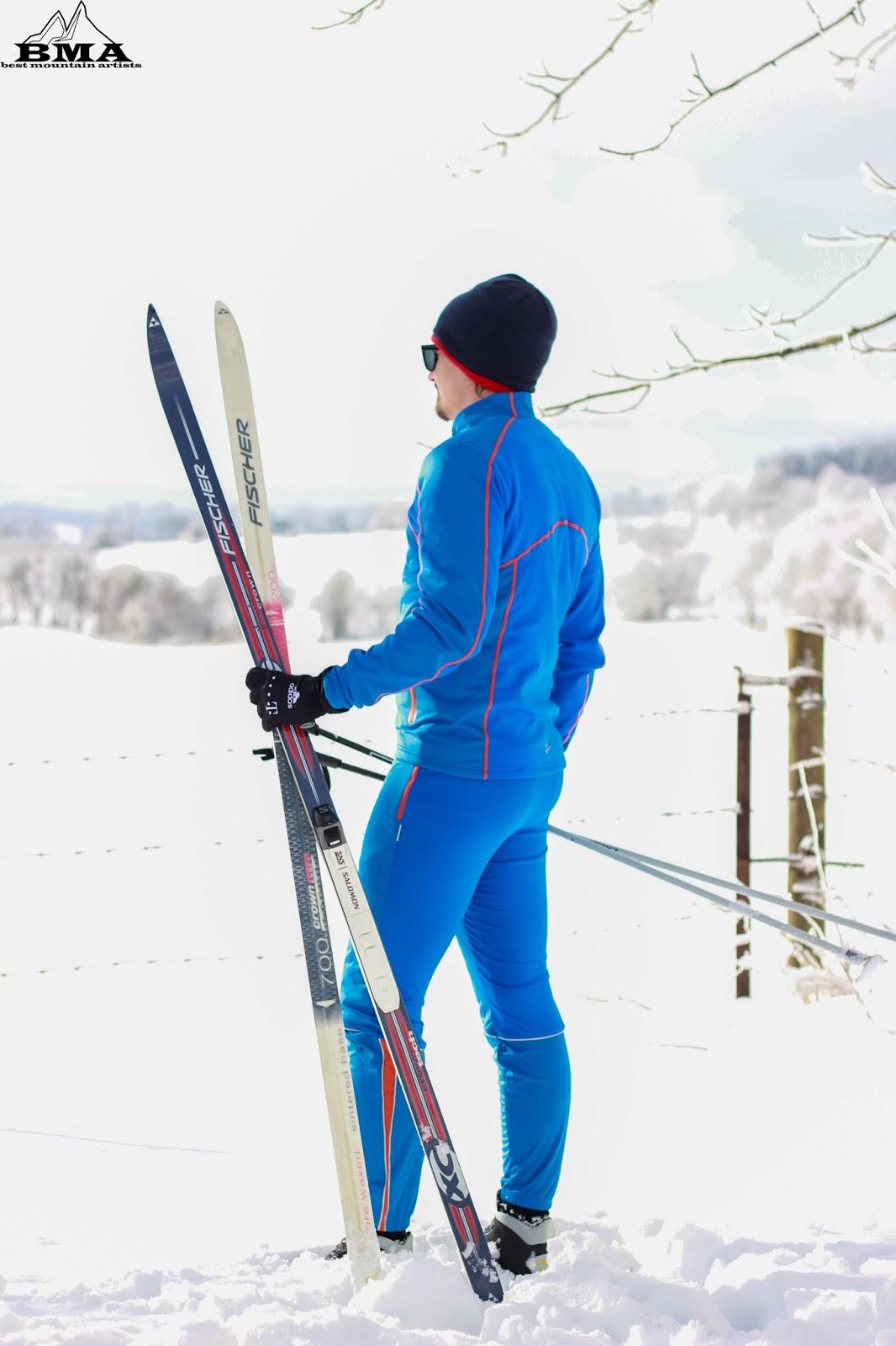 Langlauf Jacke und Hose Skifahren Outdoor Blog BMA Craft sports funktionskleidung outdoor