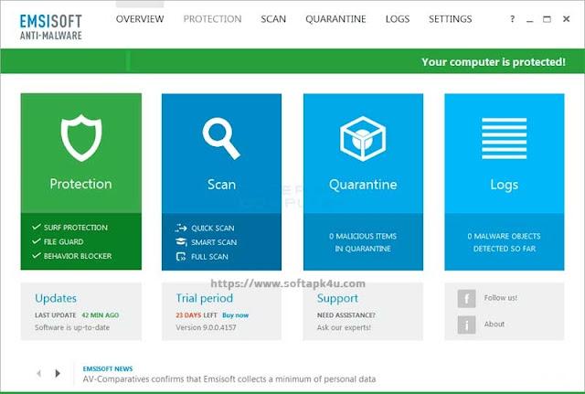 Emsisoft Anti Malware Software