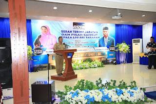 Acara Serah Terima Jabatan Kepala RRI di Ruang Auditorium LPP RRI Tarakan - Tarakan Info