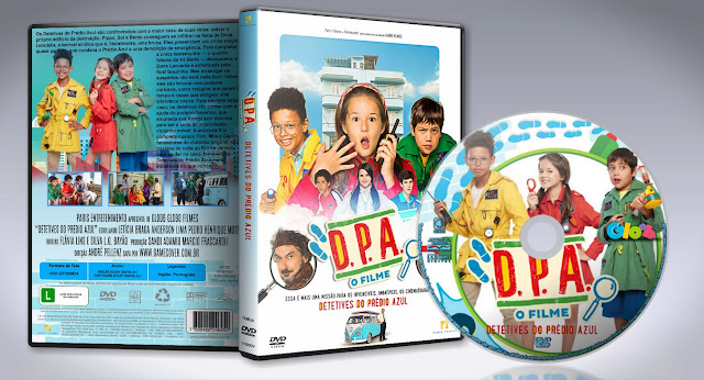 Capa DVD DPA - Detetives Do Prédio Azul O Filme [Exclusiva]