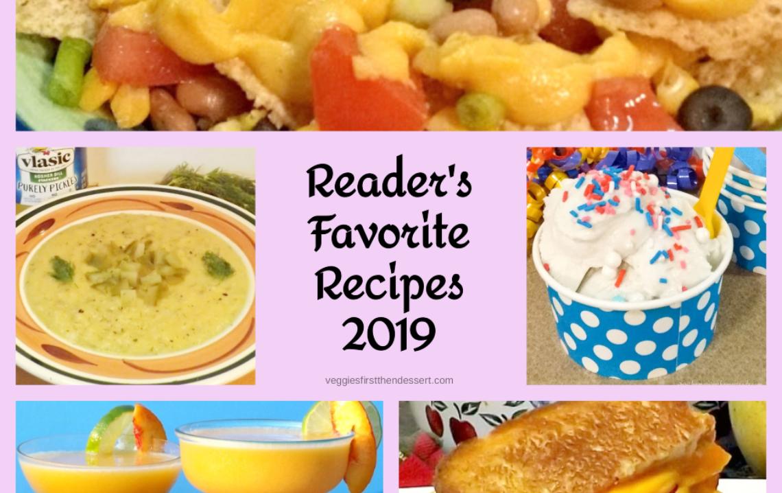 READER'S FAVORITE RECIPES OF 2019